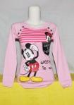 Kaos Gambar Kartun Mickey Mouse Pink