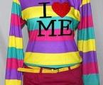Baju Kaos Lengan Panjang Ungu